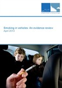 cover image of ASH Scotland's 'smoking in vehicles' report